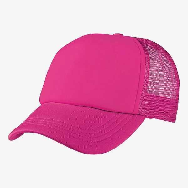 Foam Mesh Trucker Caps 4055 Pink