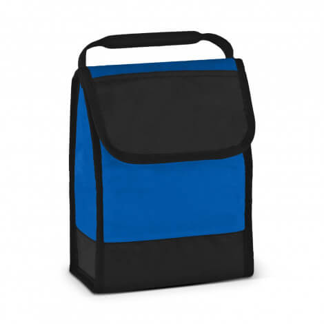 Folding ID Lunch Cooler Bags 111429 Blue