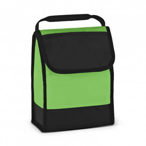 Folding ID Lunch Cooler Bags 111429 Green
