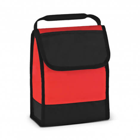 Folding ID Lunch Cooler Bags 111429 Red