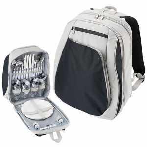 Four Person Picnic Bag CA4263GY Blue Grey