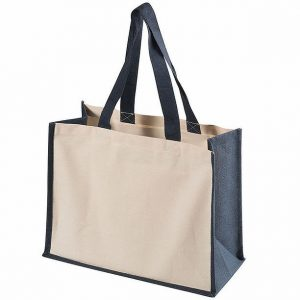 Functional Tote Bag 5049BK Cream Navy
