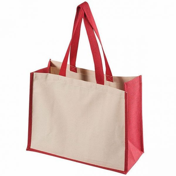 Functional Tote Bag 5049BK Cream Red