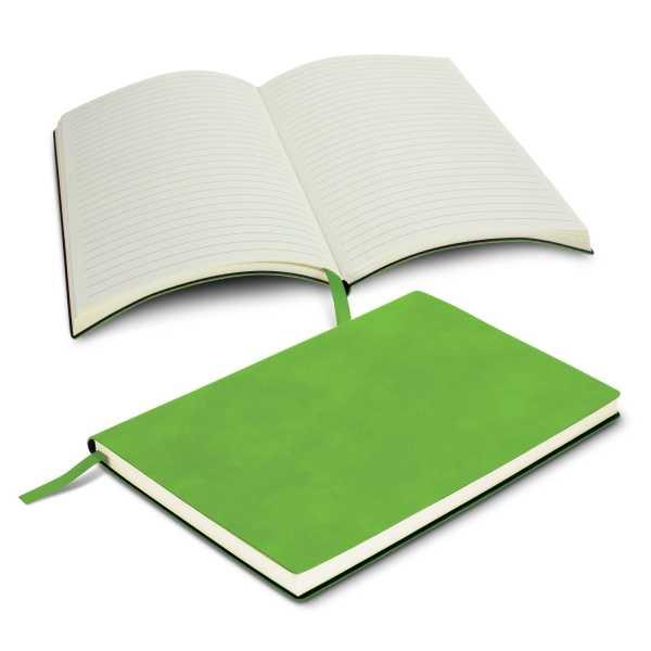 Genoa Notebook 114383 Lime Green