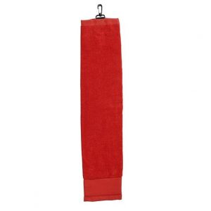 Golf Towel with Hook CAM105A Red