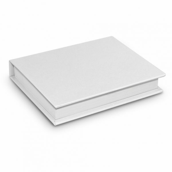 Hard Cover Notes and Flags 100926 White