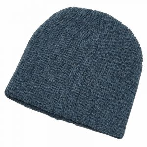 Heather Cable Knit Beanie 4455 Blue