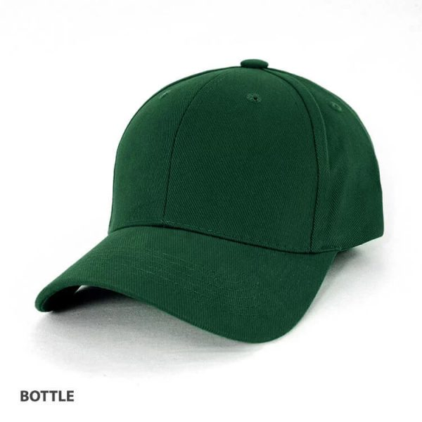 Heavy Brushed Cotton Cap AH230 Green