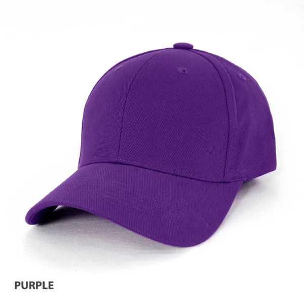 Heavy Brushed Cotton Cap AH230 Purple