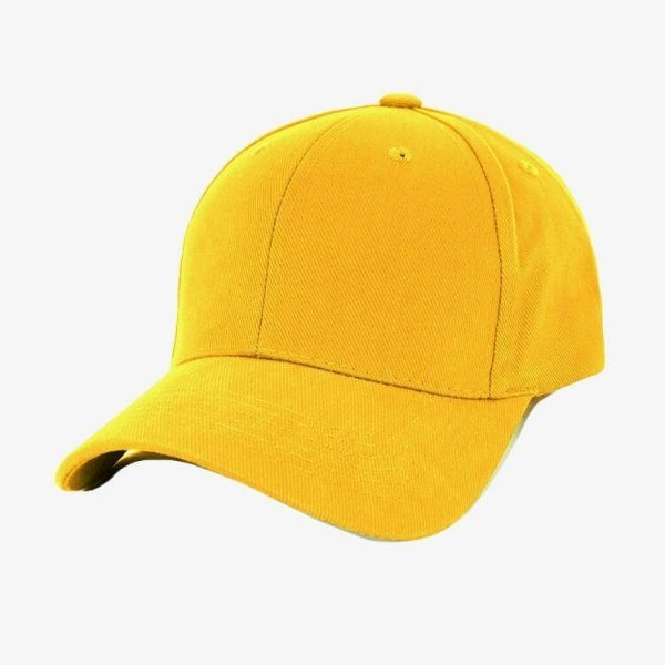 Heavy Brushed Cotton Cap AH230 Yellow