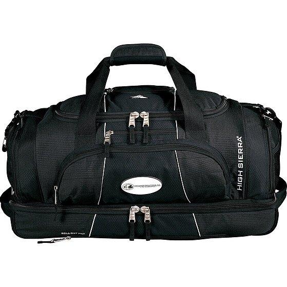 High Sierra Colossus 26 inch Drop Bottom Duffel Bag 1005BK Black