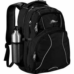 High Sierra Swerve 17 inch Computer Backpack HS1001BK Black