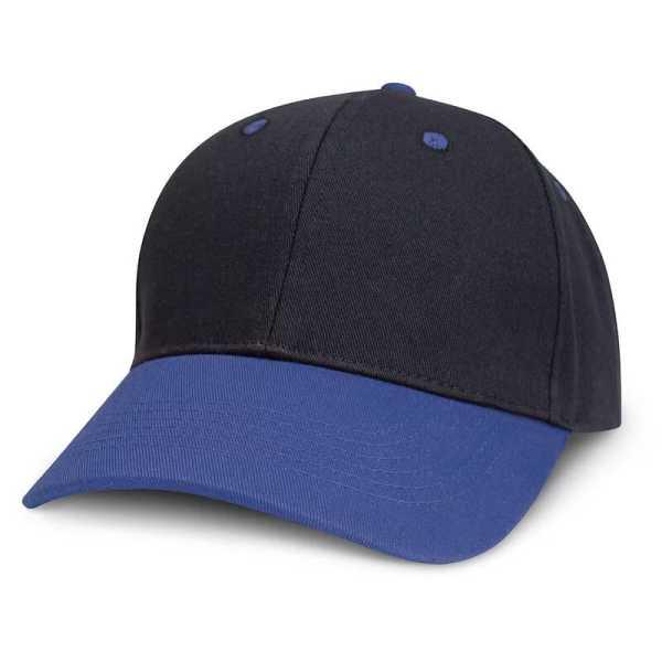Highlander Cap 115714 Black Blue