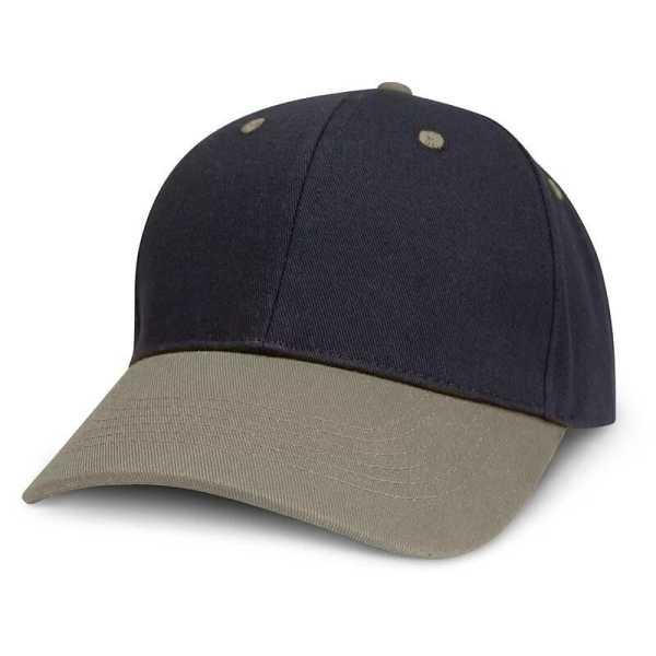 Highlander Cap 115714 Black Grey