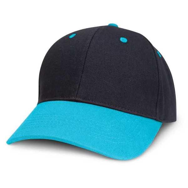 Highlander Cap 115714 Black Light Blue