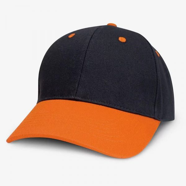 Highlander Cap 115714 Black Orange