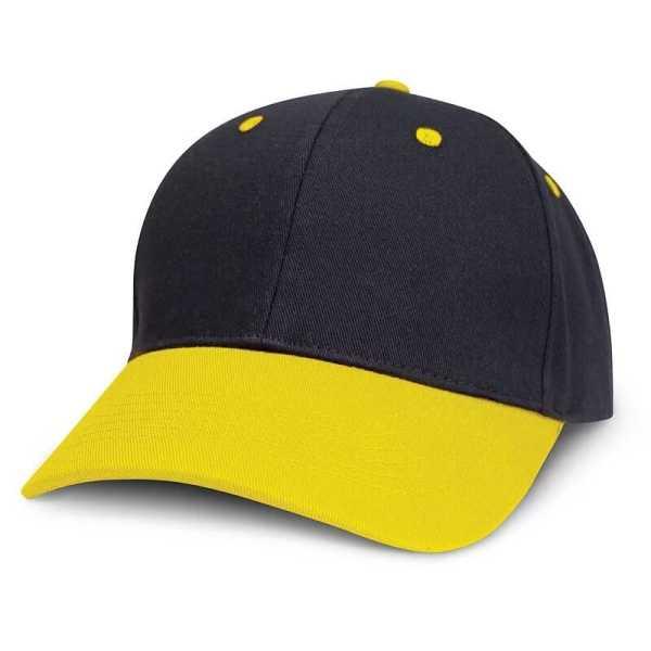 Highlander Cap 115714 Black Yellow