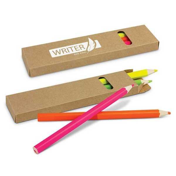Highlighter Pencil Pack CA117336 Branded