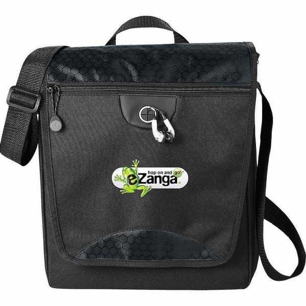 Hive Tablet Messenger Conference Satchel Bag 5053BL Black