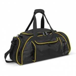 Horizon Duffle Bag 107665 Black Yellow