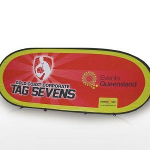 Horizontal Pop Up Banner CA13235 Various red