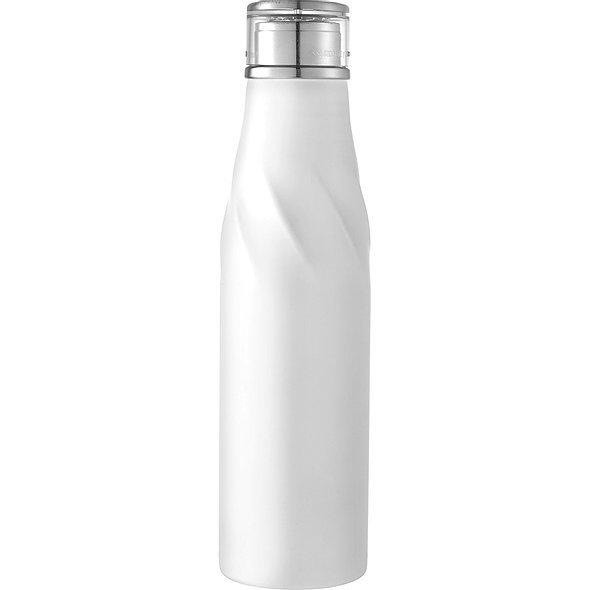 Hugo Auto Seal Copper Vacuum Insulated Bottle 4074WH White
