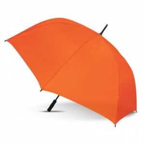 Hydra Sports Umbrella CA110485 Orange Open Side View
