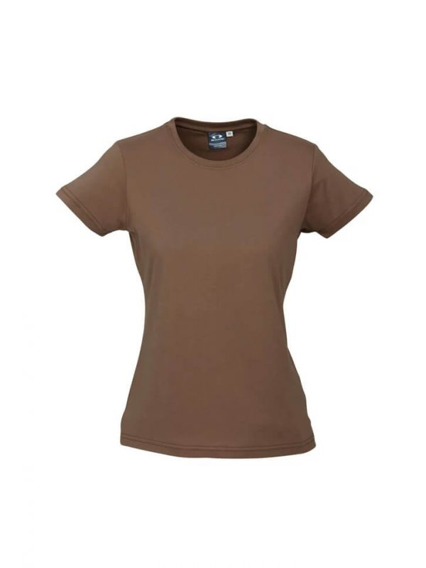 Ice T Shirts Womans T10022 Brown