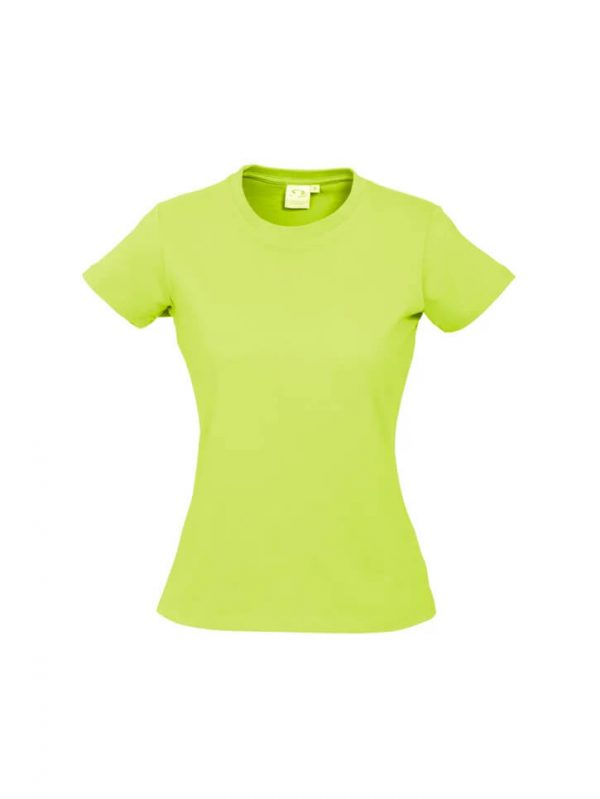 Ice T Shirts Womans T10022 Lime