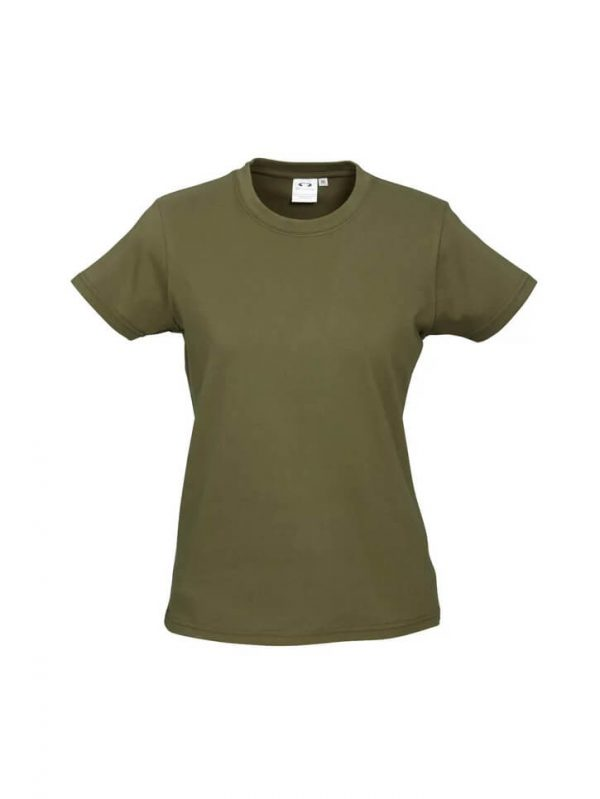Ice T Shirts Womans T10022 Olive