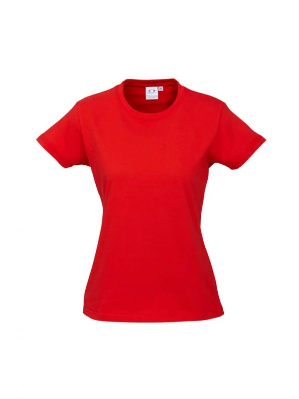 Ice T Shirts Womans T10022 Red