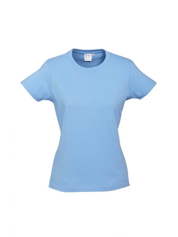Ice T Shirts Womans T10022 Sky Blue