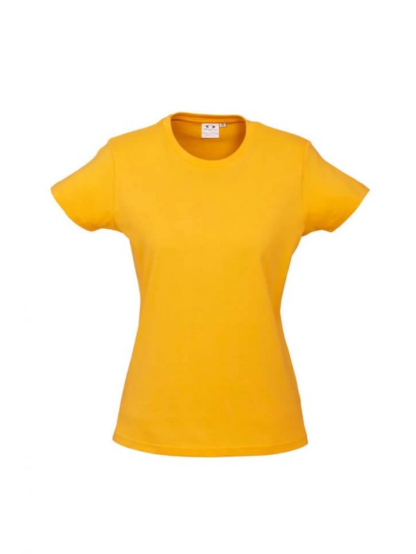Ice T Shirts Womans T10022 Yellow