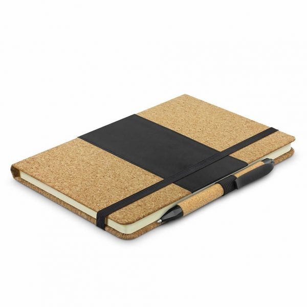 Inca Notebook with Pen 116303 Black Natural