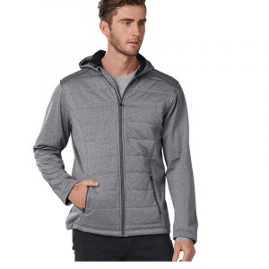 Jasper Cationic Quilted Jacket Mens JK51 Grey Front