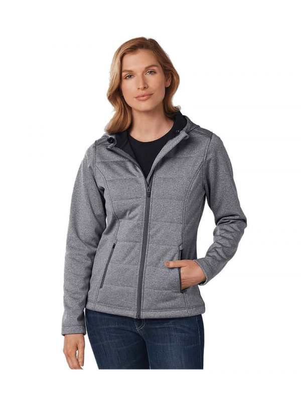 Jasper Cationic Quilted Jacket Womens JK52 Grey Front