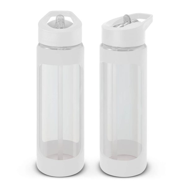 Jupiter Glass Water Drink Bottle 115873 White