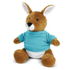 Kangaroo Plush Toy CA117007 Light Blue