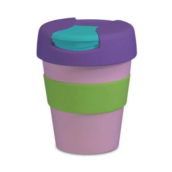 Karma Kup Plastic with Flip Lid 320ml G1960 Pink Purple