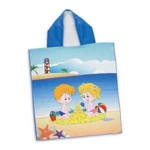 Kids Hooded Towel CA117465 Branded