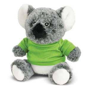 Koala Plush Toy CA117005 Lime Green