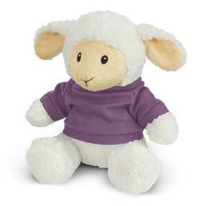 Lamb Plush Toy CA117004 Purple