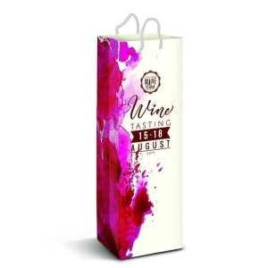 Laminated Paper Wine Bag Full Colour 116940 Full Colour Print