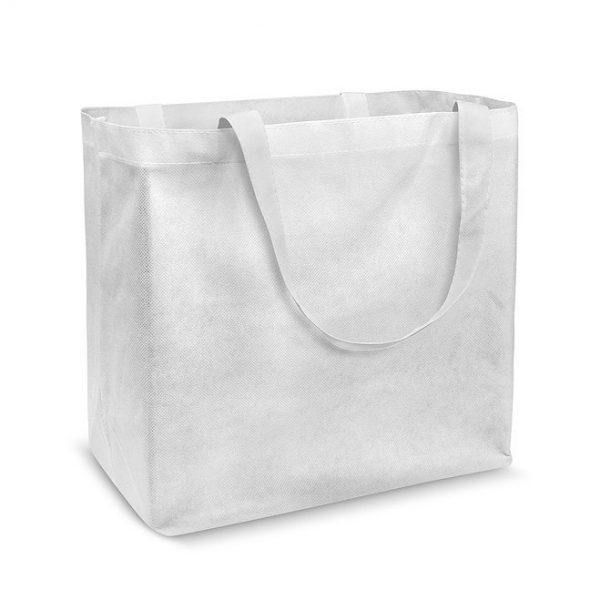 Laminated Tote Bag Custom No Branding