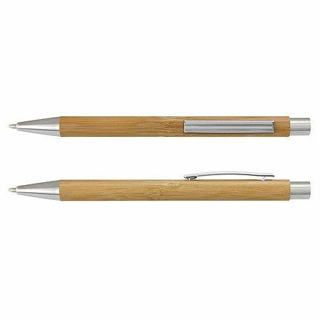 Lancer Bamboo Pen CA200274 Natural Silver