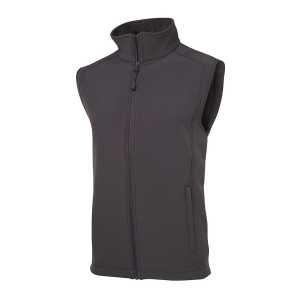 Layer Soft Shell Vest Mens 3JLV Grey