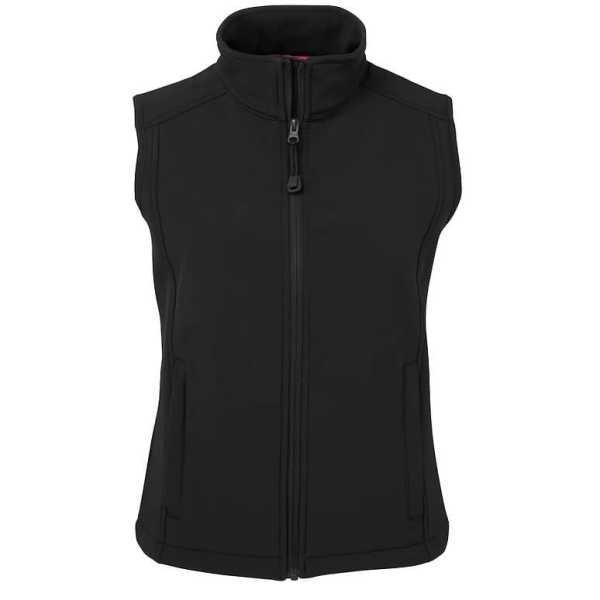 Layer Soft Shell Vest Womans 3JLV1 Black