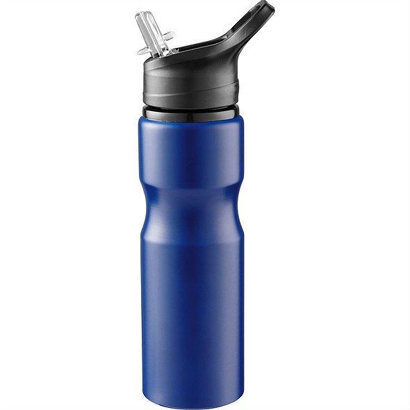 Loki Aluminium Sports Bottle 4092 Blue