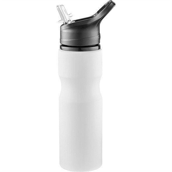 Loki Aluminium Sports Bottle 4092 White