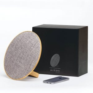 Lounge Disc Bluetooth Speaker CAPOLDBS Natural with Gift Box
